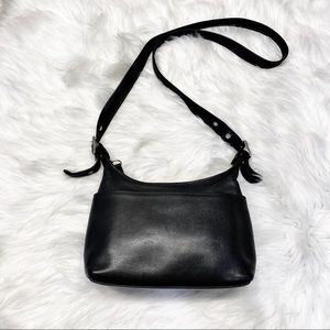 Vintage Coach Legacy Leather Black Bag 9136